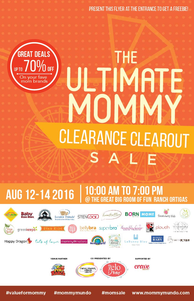 Ultimate Clearance Clearout FA_MMCC Flyer
