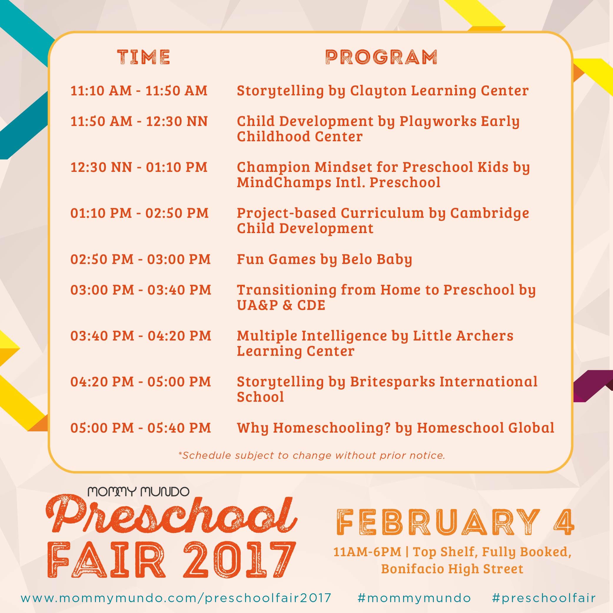 Preschool Fair Program2-01