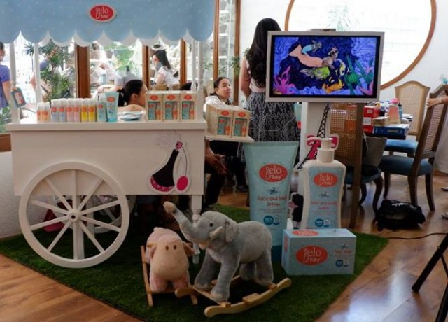 The adorable Belo Baby cart