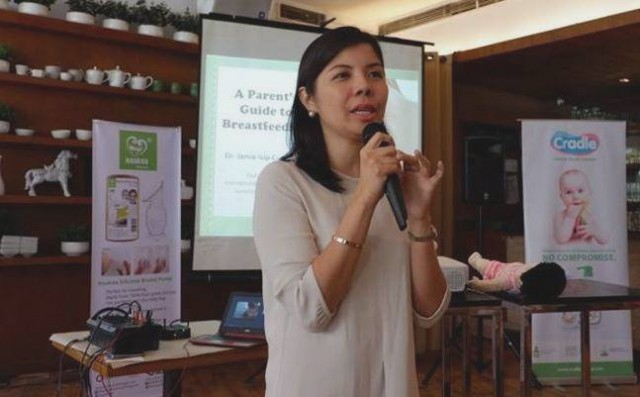 Pediatrician and International Lactation Consultant Dr. Jamie Isip-Cumpas shreas her insights on breastfeeding.