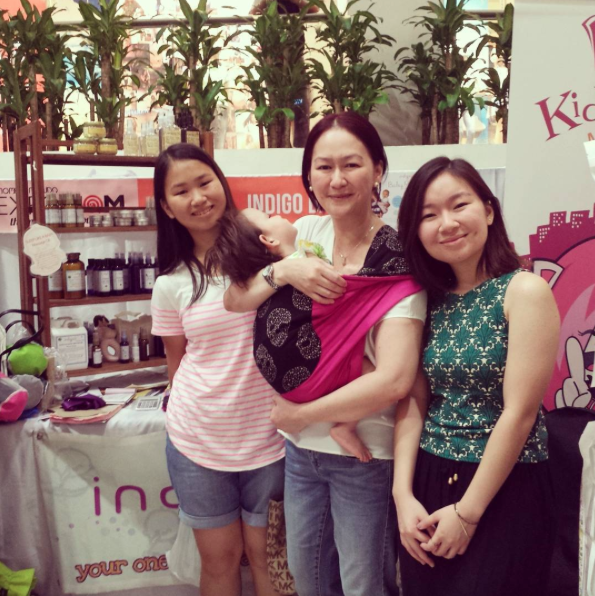 It makes Denise happy and fulfilled to talk to other moms about the empowering benefits of babywearing