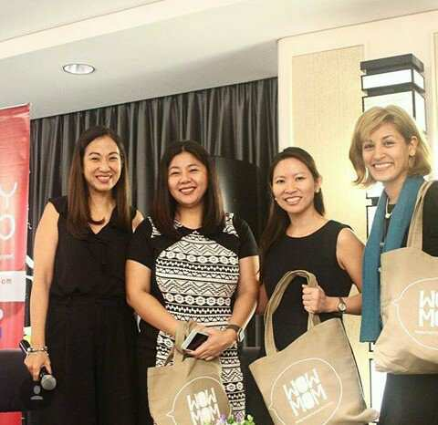 Successful mompreneurs all: Janice Villanueva of Mommy Mundo, Minnie Jumaquio of Snug-A-Hug, Sherrie Siy of Discovery Depot, and Denise Gonzales Bernardo of Indigo Baby