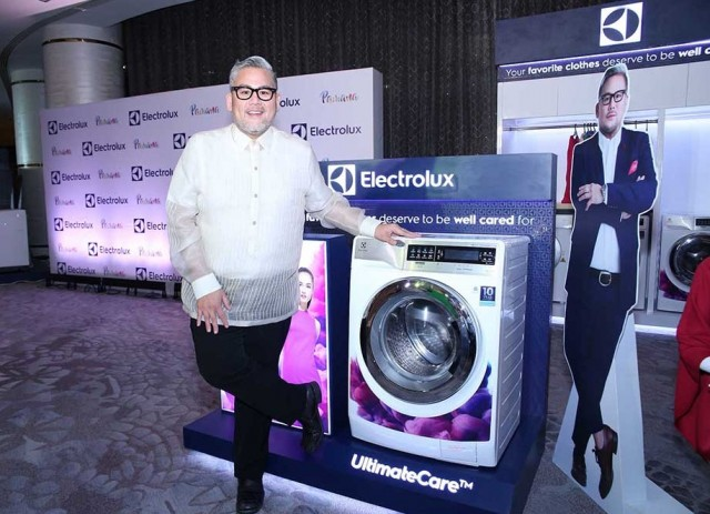 Rajo Laurel with the Electrolux UltimateCare Front Load Washing Machine