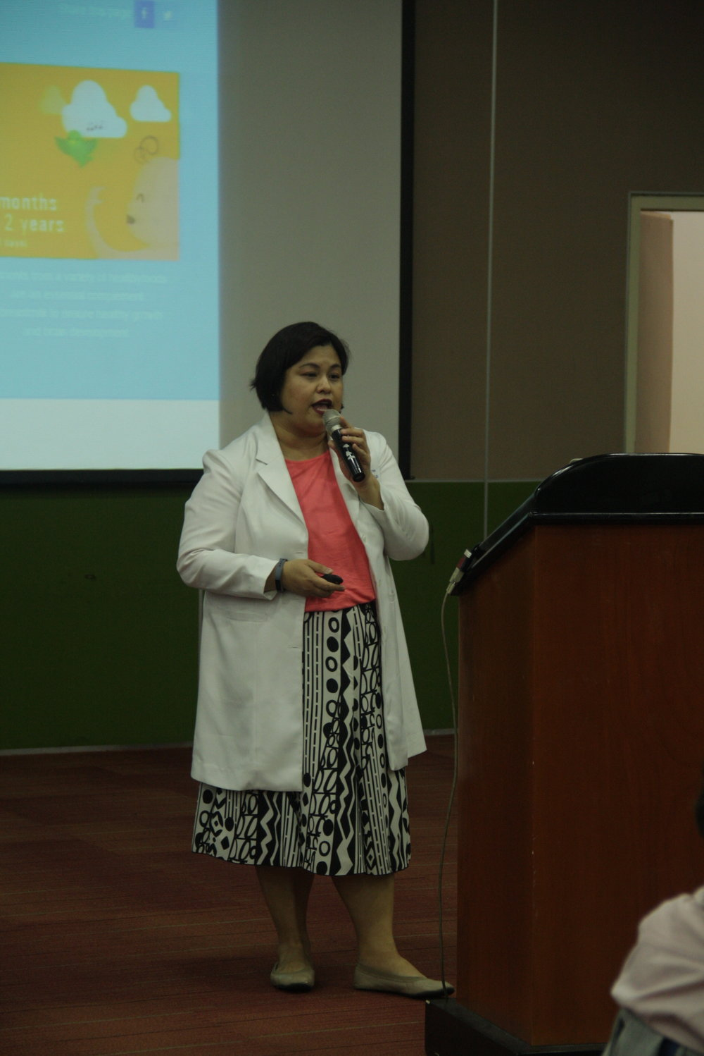 Teresa Maria T. Ribaño, MD, DPPS, IBCLC, Pediatrician and Lactation Consultant, Makati Medical Center