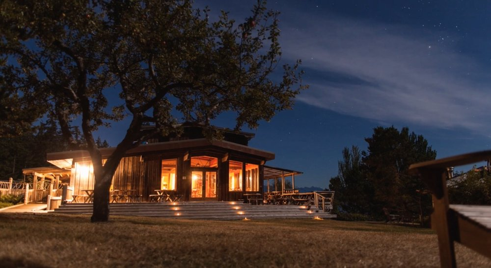 The Lodge at Hollyhock in British Columbia (Photo courtesy Hollyhock)