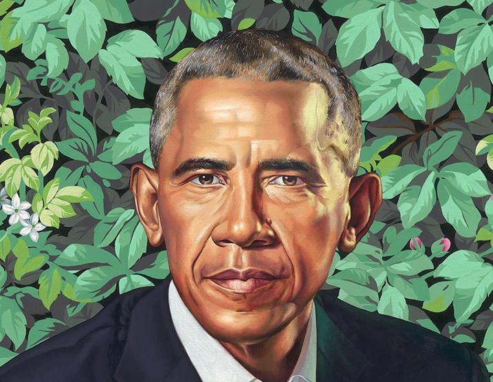 Kehinde Wiley, Barack Obama (2018)