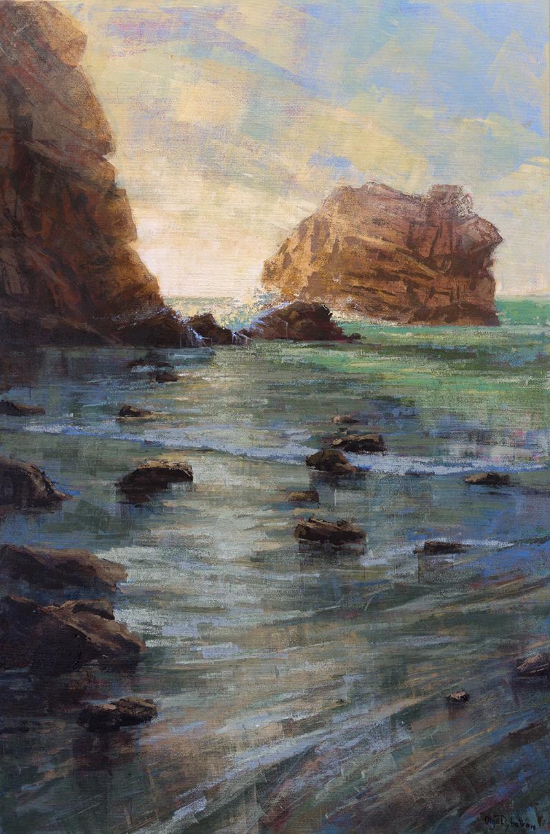 olga rybalko art - pacific rim - sage wave - landscape painting.jpg