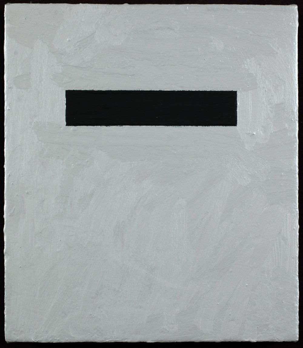 "Solitary Equilibrium I    Acrylic on canvas  14"" x 12""  2012"
