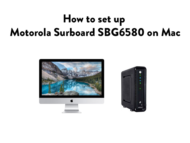 motorola surfboard sbg6580 manual