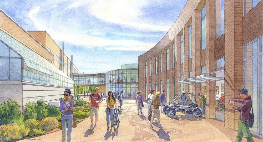 Gonzaga University, Cataldo Way