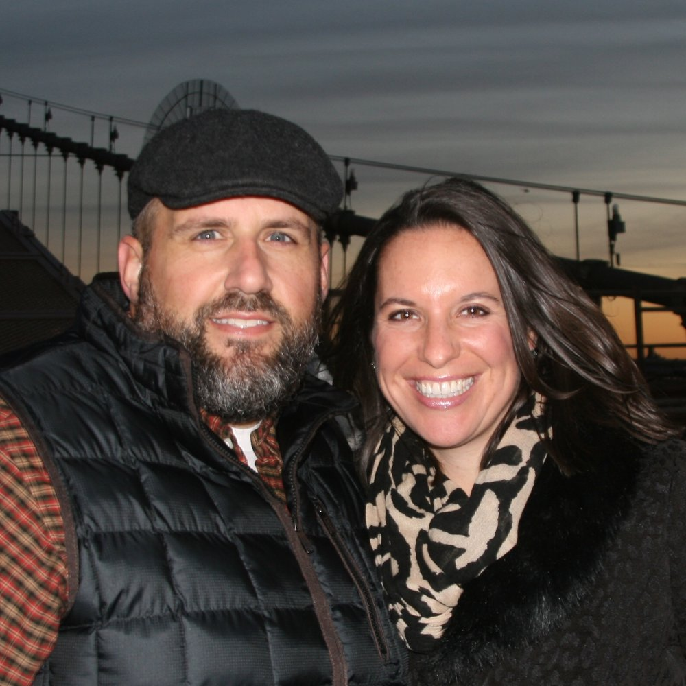 Greg and Julie in New York, 2016