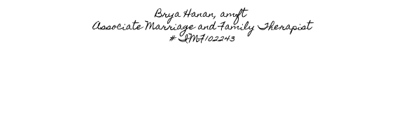 Brya Hanan, amft Associate Marriage and Family Therapist # IMF102243.png