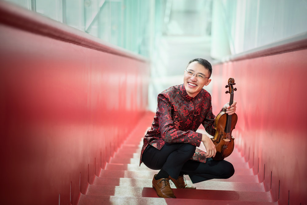 Juilliard Student Recital: Max Tan, Violin with Accompaniment