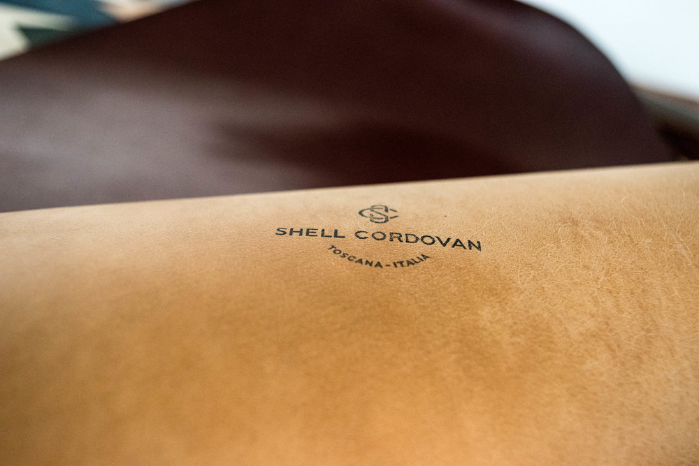 Rose Leather Crafting, Shell Cordovan, Chris Rose, Leather Wallet, Shell Cordovan Wallet