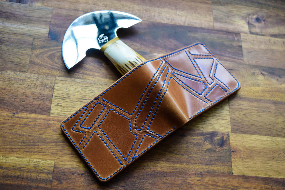 Chris Rose, Rose Leather Crafting, Shell Cordovan, leather wallet