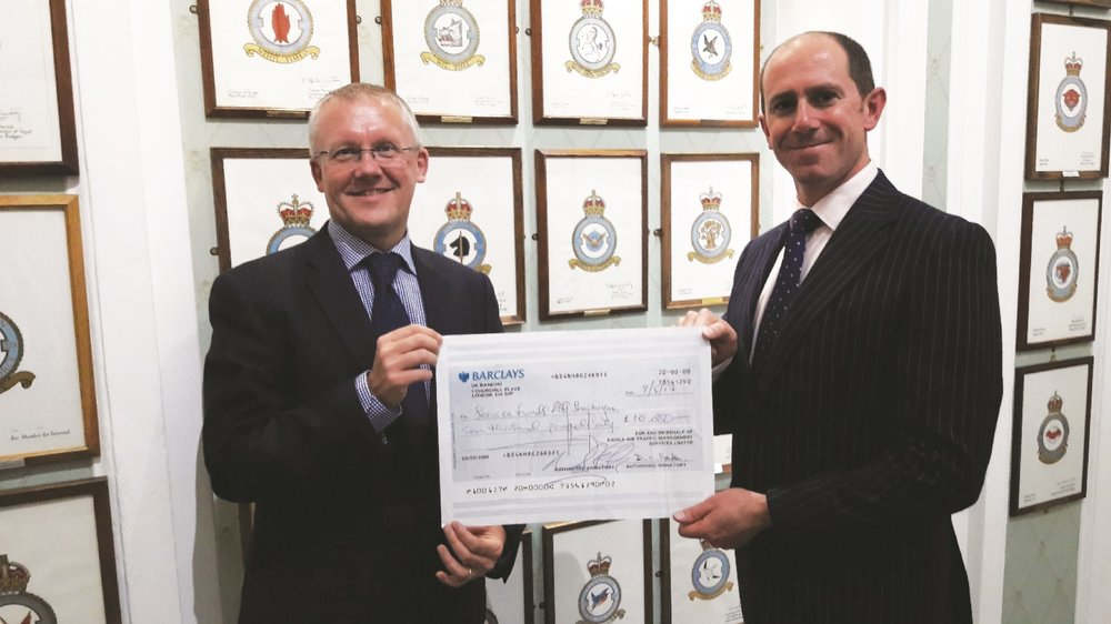 Shining Endeavour cheque.jpg
