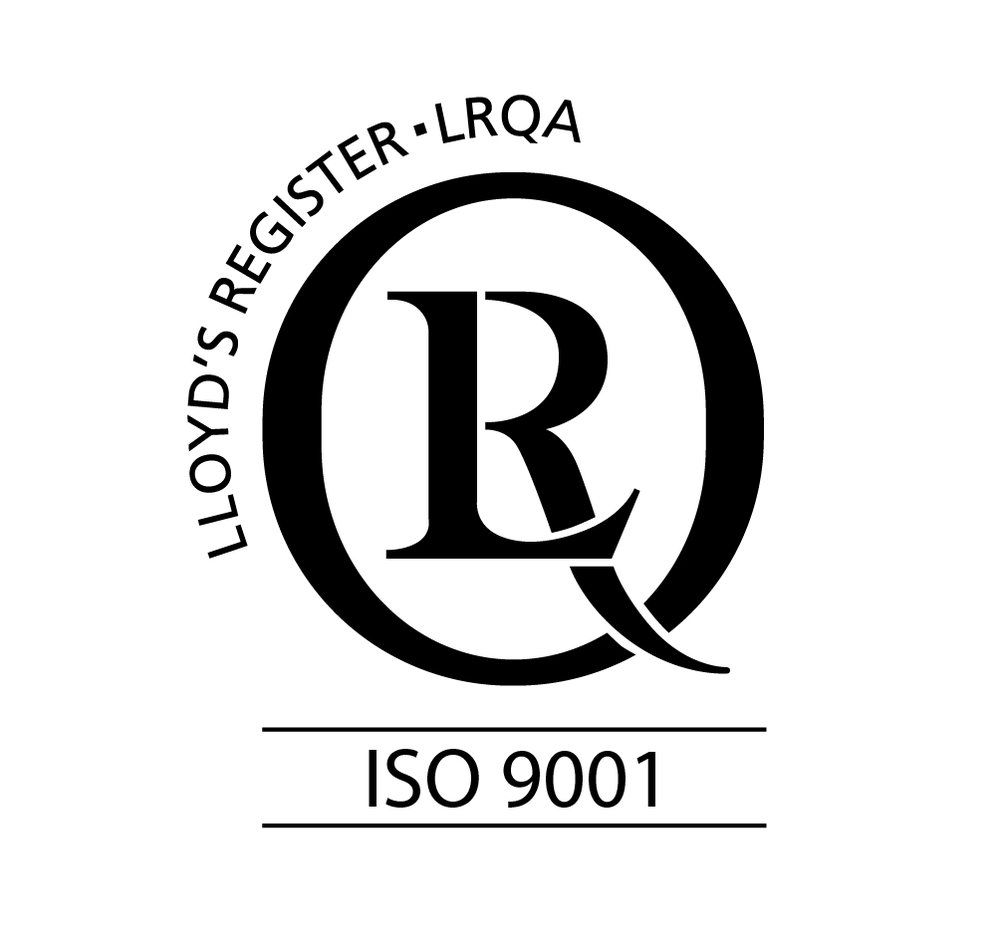 Aquila's Management System is certified to ISO 9001. -