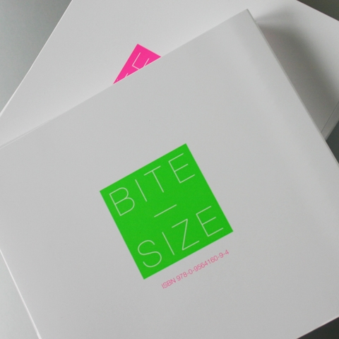 Bite Size catalogue - an exhibition of maquettes from 52 international artists