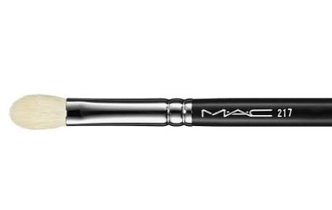 1. Eye shadow Brush. Our favourite is  MAC 217  or  L&Y  for applying eye shadow all over and to the crease. Make sure to purchase 2 of these brushes as you'll need a clean brush for the crease and blending.