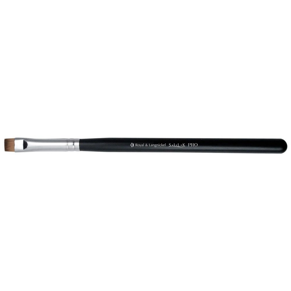 2.  Eyebrow brush. For eyebrows, I love to use a short flat line brush by  Royal & Langnickel  to create beautiful bold eyebrows.