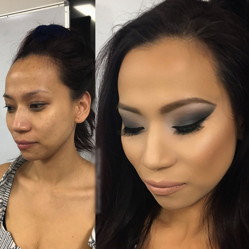 asian smokey eye makeup