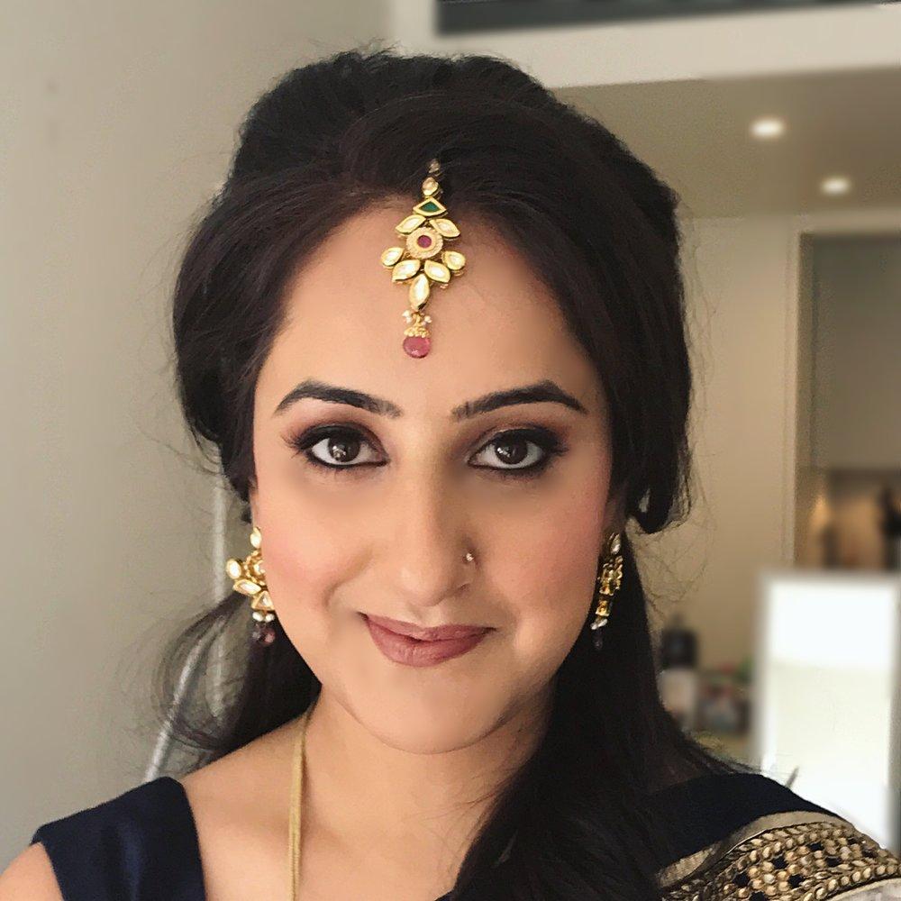 Indian makeup by sydney makeup artist