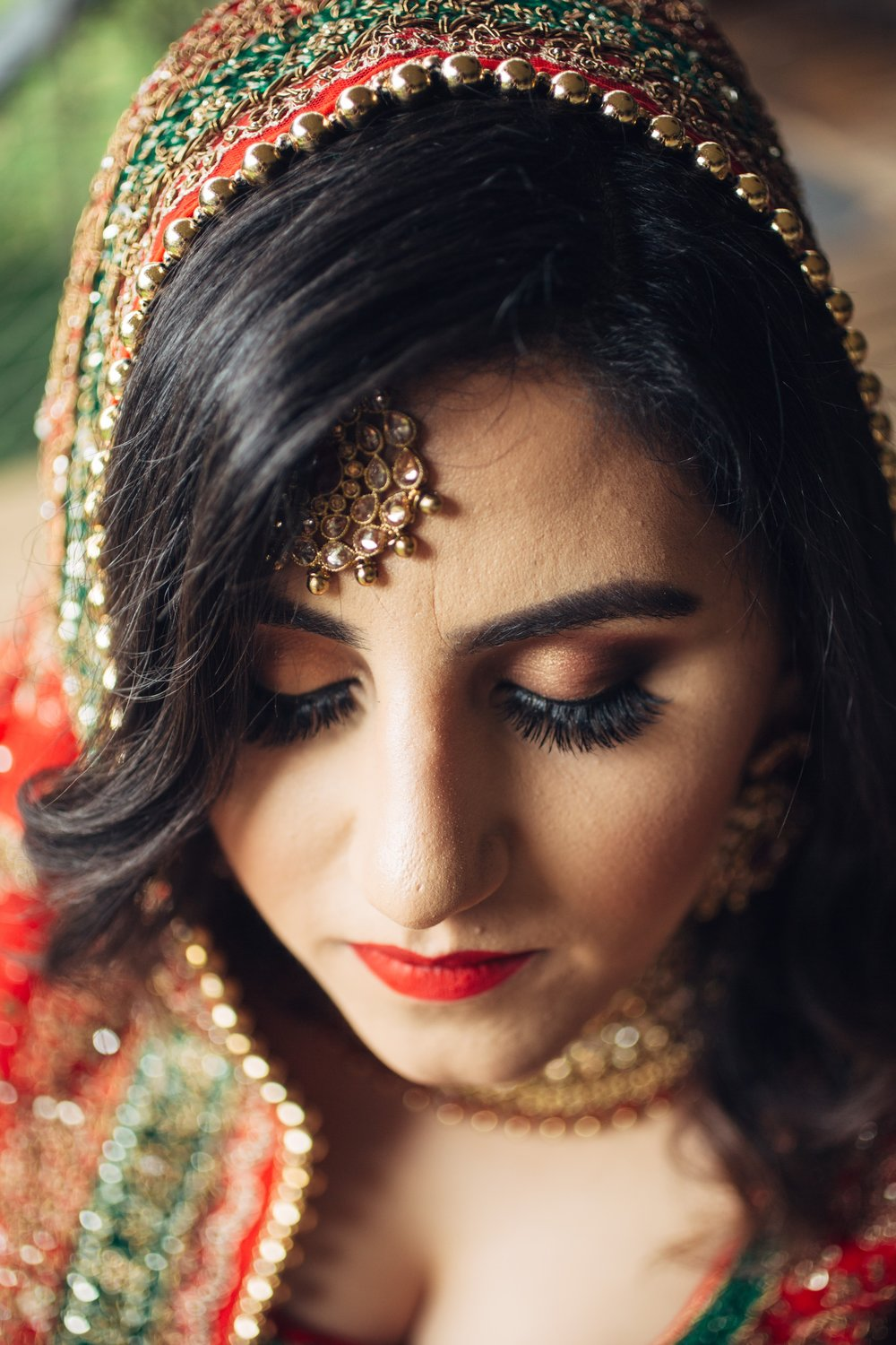 Amani: Traditional Indian Bridal Look