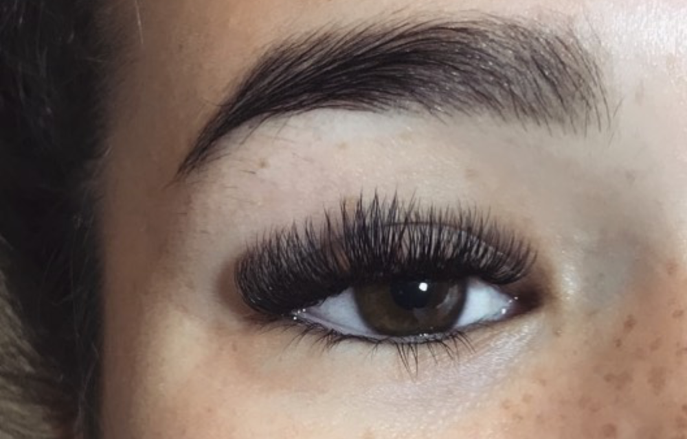 Our talented lash technician  Maddison. I  specialise in both classic and volume-style in eyelash extensions.