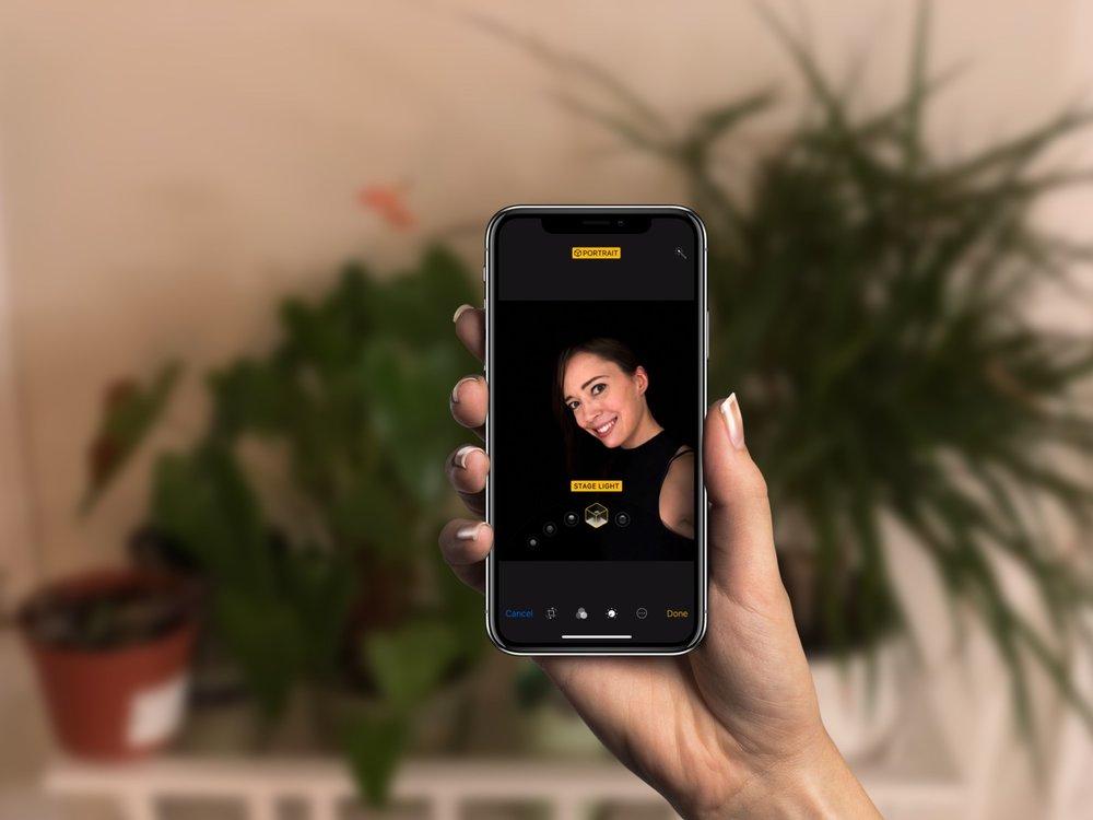iPhone + Selfie