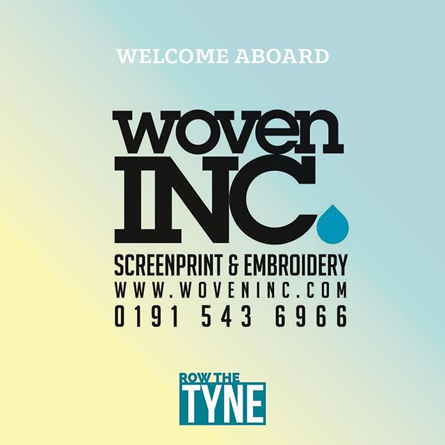 We're proud to welcome @woveninc on board.  Ian, Sarah and he team have been supplying some of the biggest brands in the north east and beyond with merchandising and apparel.  We are please to announce they will be the official clothing sponsor for Row The Tyne.  You can find out more about their services by visiting  www.woveninc.com  If you'd like more information on becoming a corporate partner please get in touch.  #charity #event #row #nefitness #rowing #endurance #crossfit #corporate #rivertyne #health #cancer #fitness #business #screenprint #clothing #merchandise  @concept2inc @karpetmills @cfnorthumbria @shentoncreative @woveninc