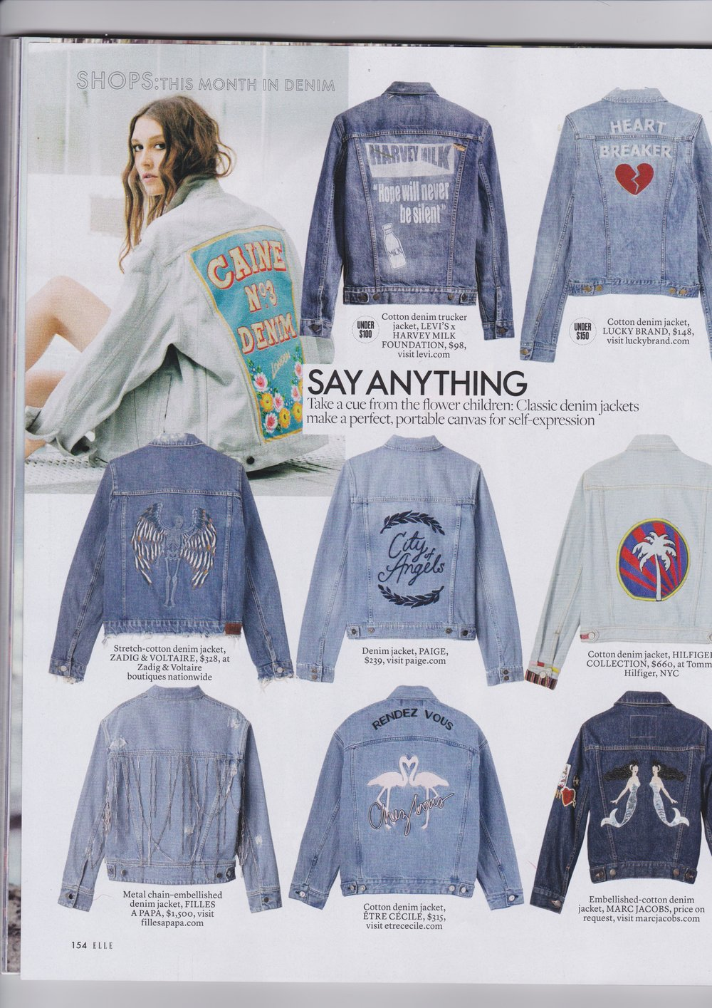 ELLE US FEATURING NO.3 JACKET
