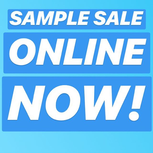 G👀D NEWS our Sample Sale is now available online for 1 week only!!!! New pieces dropping daily at 6pm GMT... be quick!!!!! #missitmissout #LoveInCaine #samplesale