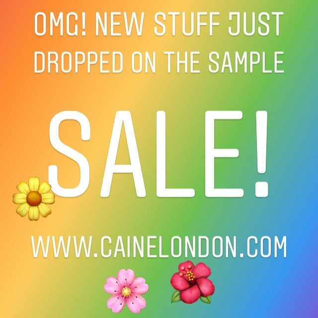 Be quick! 🚀 SAMPLE SALE!