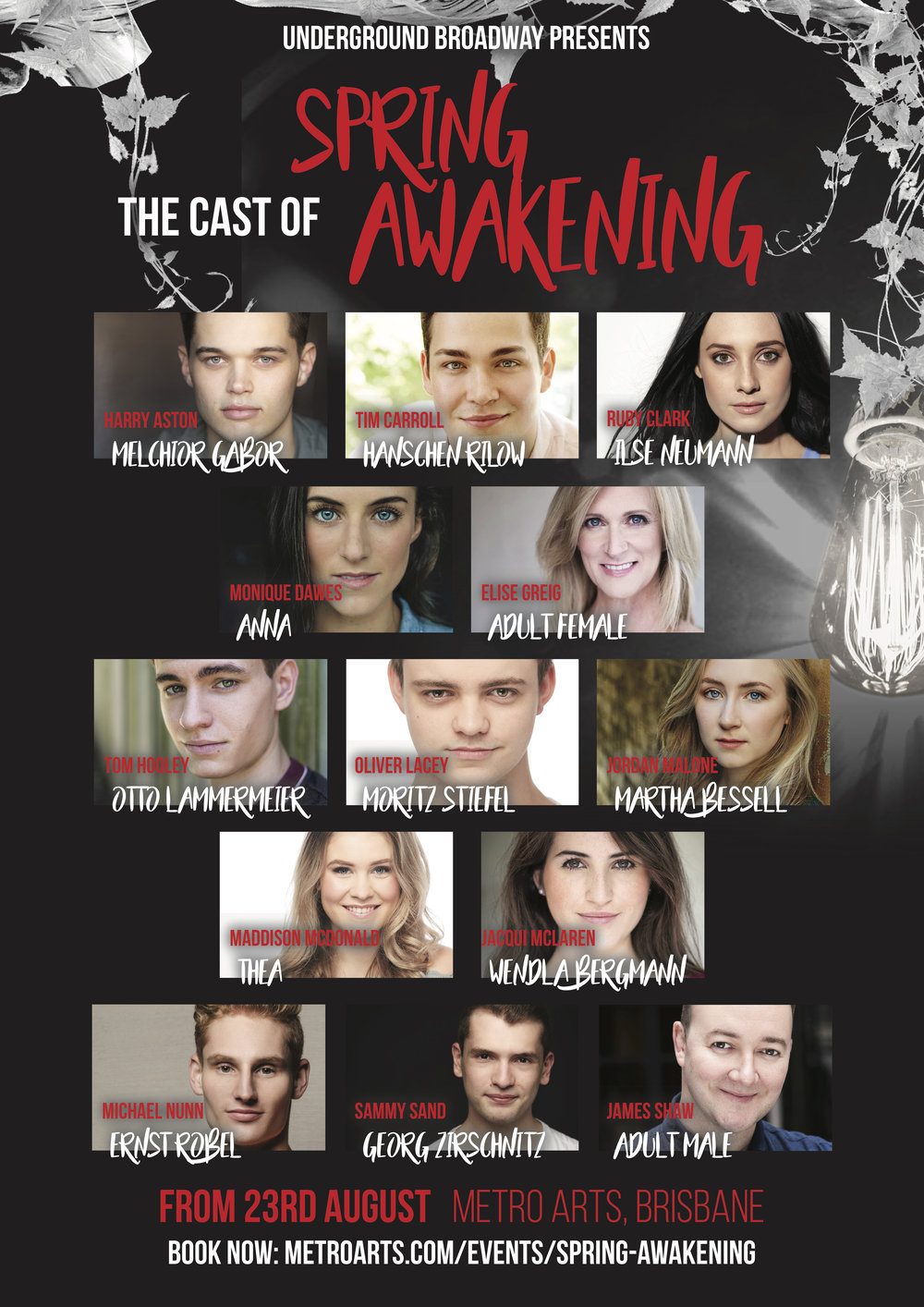 - Spring Awakening is a Tony Award-winning rock musical with music by Duncan Sheik and book and lyrics by Steven Sater. The musical is based on the controversial 1891 play of the same title by Frank Wedekind. Set in late-nineteenth century Germany, it concerns teenagers who are discovering the inner and outer tumult of Human sexuality. The characters inner thoughts are told through an alternative rock score.Underground Broadway is thrilled to be bringing this ground-breaking piece to Brisbane in August 2018, transforming the Sue Benner theatre into a theatrical experience unlike anything that's ever been seen in Queensland.