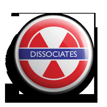 Dissociates Badge