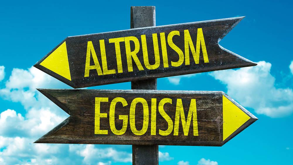 egoism vs altruism definition