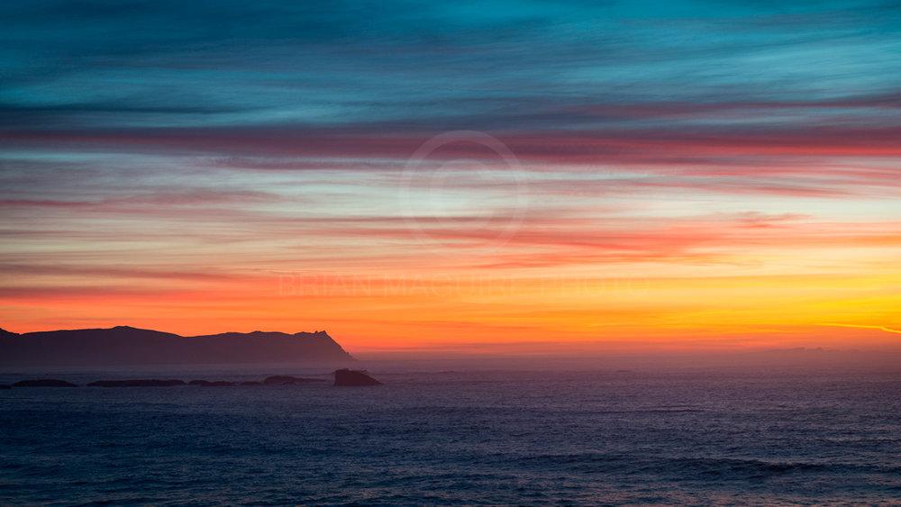 DL0018 Horn Head at dusk