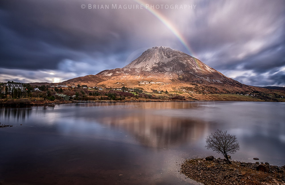 DL0021 Errigal Rainbow