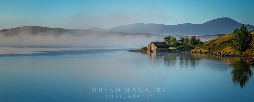 SCOT001 Loch Loyal Boathouse