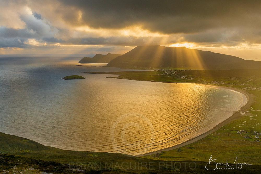 NDON0003 Achill Sunset
