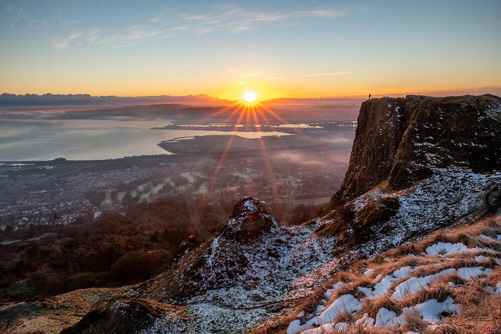 ND0012 Cavehill Sunrise, Belfast