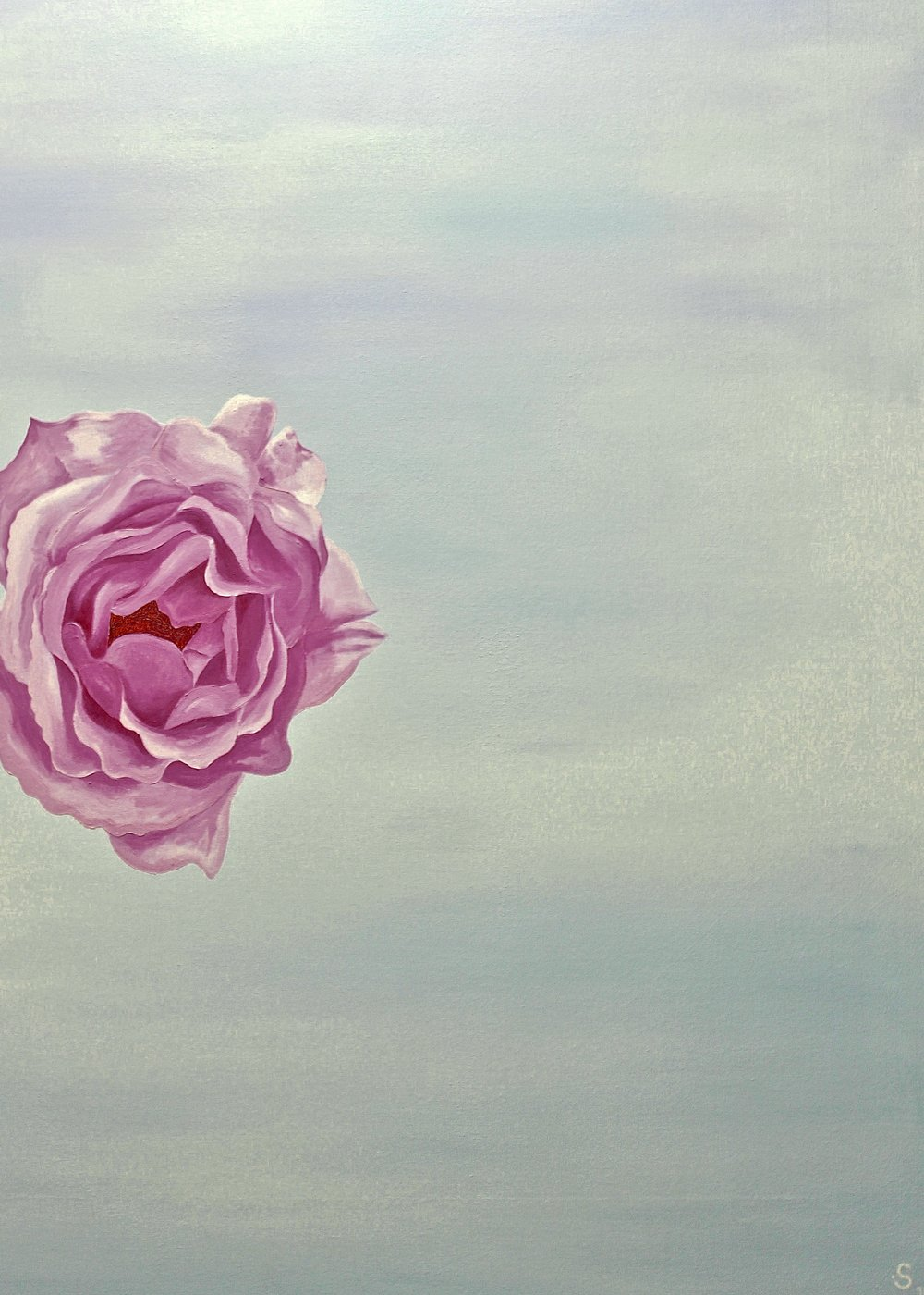 The Rose -  2010 oil on canvas 91cm x 122cm