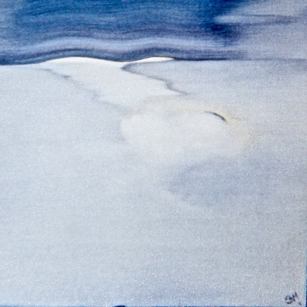 Horizon -  2014 watercolour on paper 30cm x 30cm