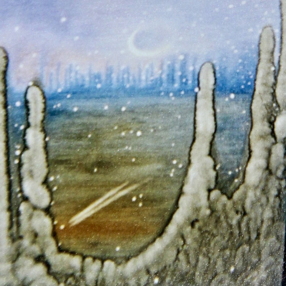 Another World -  2014 watercolour on paper 30cm x 30cm