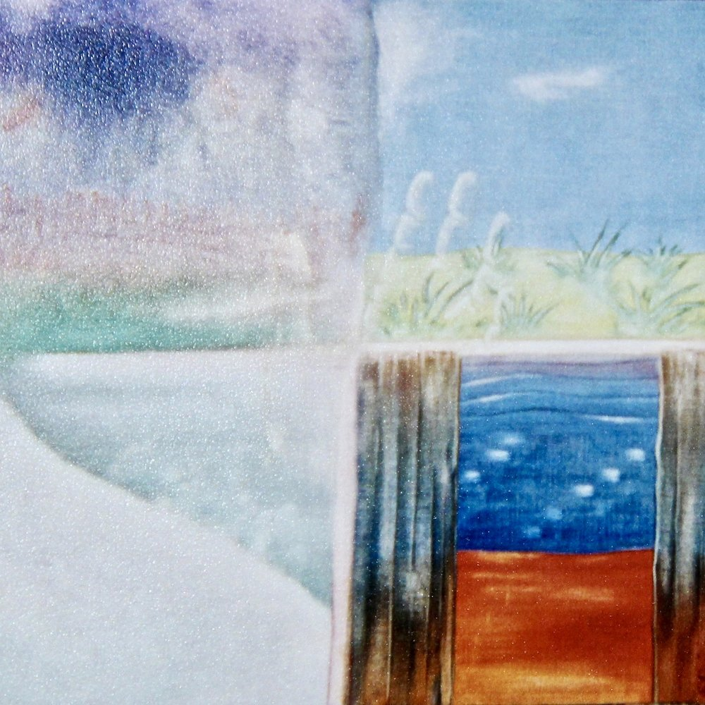 All Days Count -  2014 watercolour on paper 30cm x 30cm