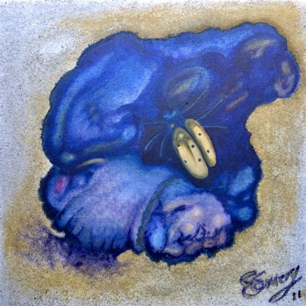 Small Friend - 2011  watercolour on paper 20cm x 26cm