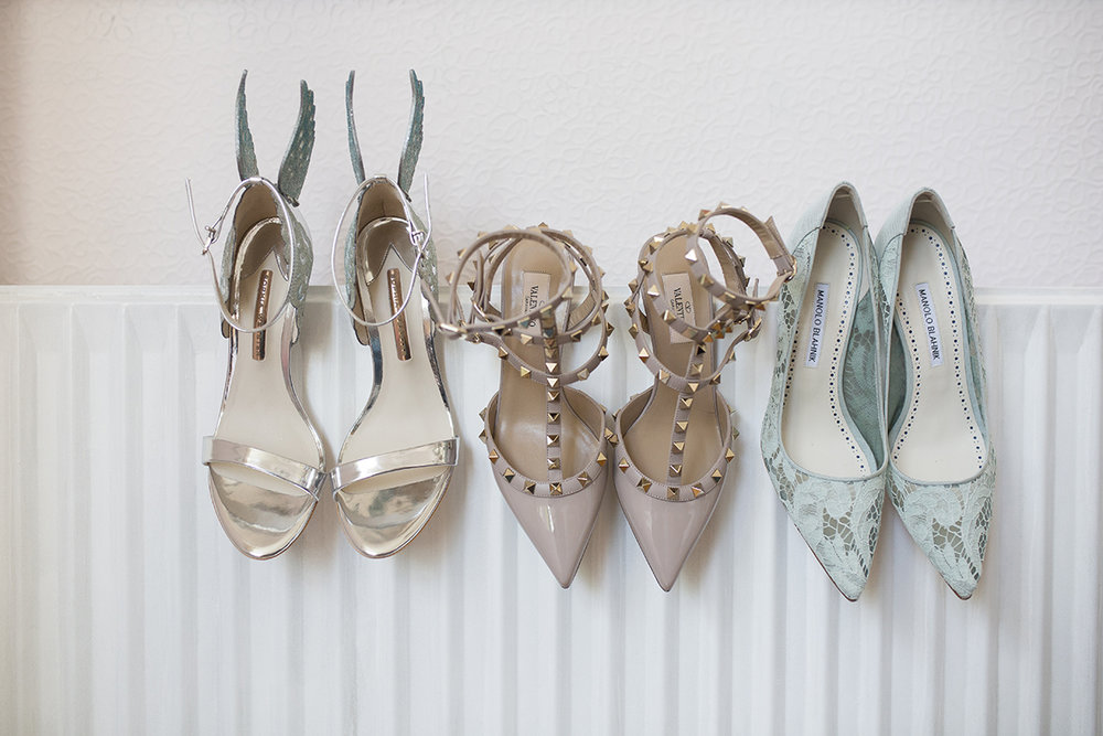 wedding shoes Sophie Lake Photography