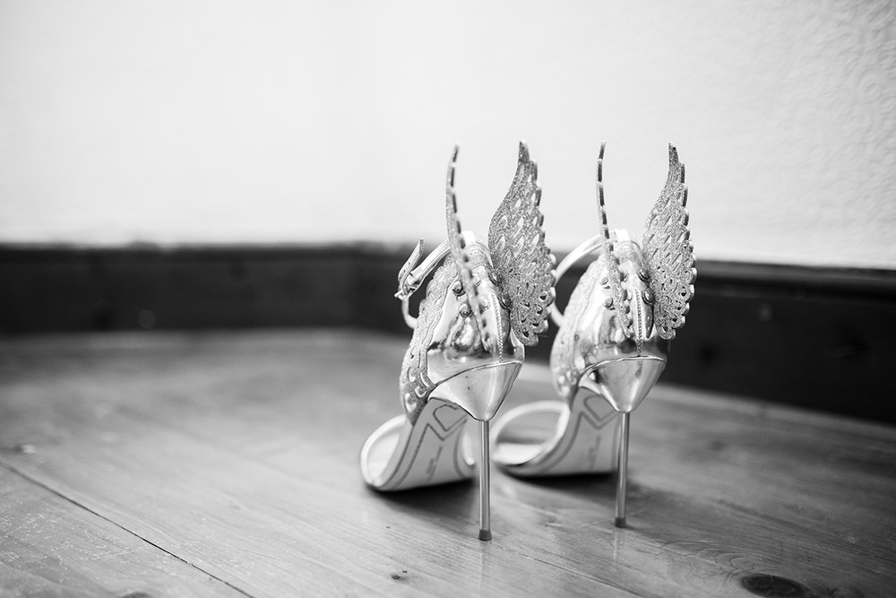 bridesmaids shoes Sophie Lake Photography