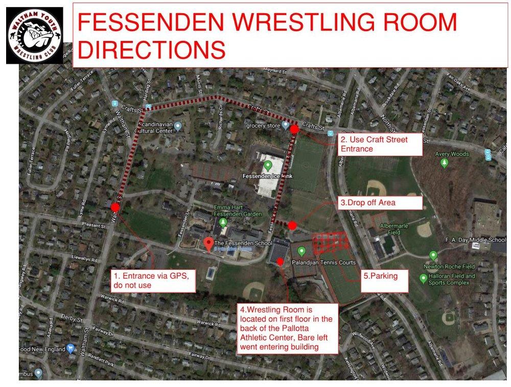 Fess Wrestling Room Directions.JPG