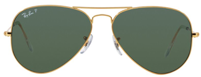 RAY-BAN AVIATORS - An iconic classic + great eye protection.